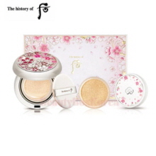 THE HISTORY OF WHOO Gongjinhyang Sul Whitening Moisture Glow Cushion Set [Monthly Limited -APRIL 2018]